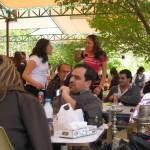 Wochenende: Die Picknick-Terrassen im Anti-Libanon waren ein beliebtes Ausflugsziel